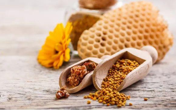 polen de abeja beneficios