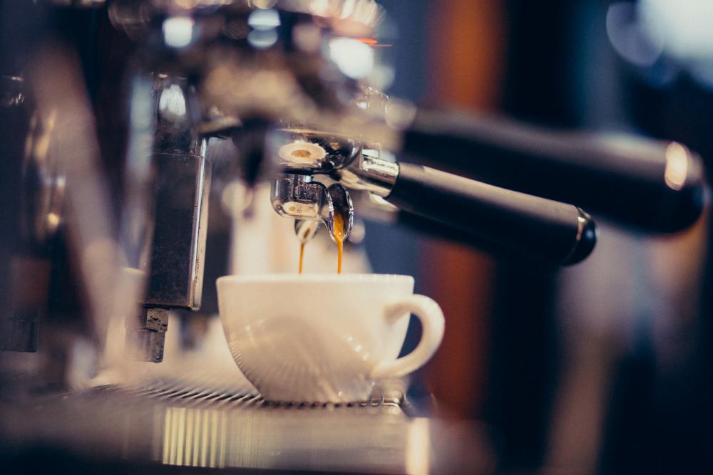 maquina de barista para hacer café