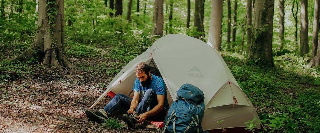 lo que necesitas para acampar
